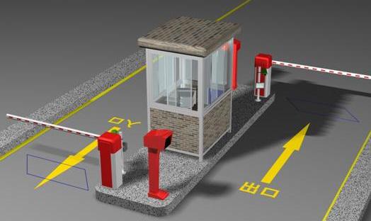 智能停车场管理系统  图片